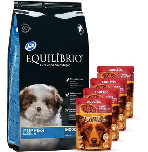 Equilibrio Cachorro Raza Pequeña 7,5k+ 4 Paté + Envío Gratis