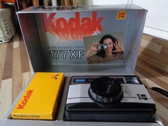 Câmera Fotográfica Antiga Kodak 177 Xf