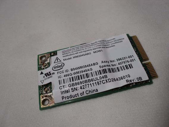 Placa Rede Wireless Hp Dv2500 452063 001