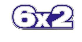 Emblema Resinado 6x2 Frontal Caminhão Volkswagen Azul