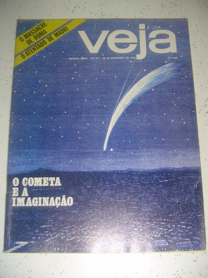 Revista Veja 277 Cometa Kohoutek Papa João Xxiii Pérsia 1973