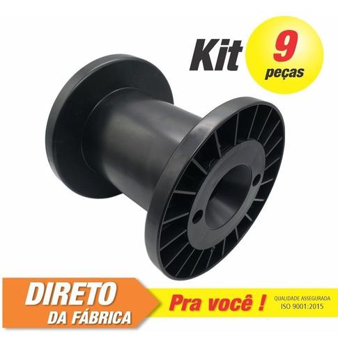 Imagem 1 de 3 de Carretel Abnt Nº05 - Kit C/ 9 Peças