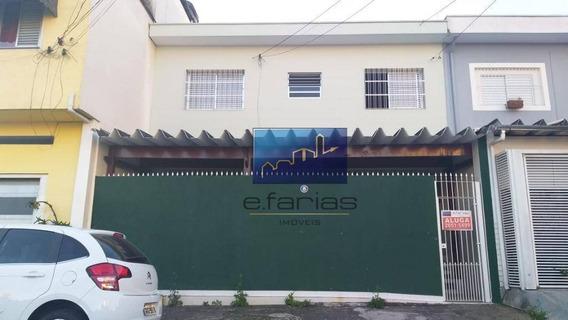 Sobrado Com 2 Dormitórios Para Alugar, 80 M² Por R$ 2.300,00/mês - Vila Aricanduva - São Paulo/sp - So0755