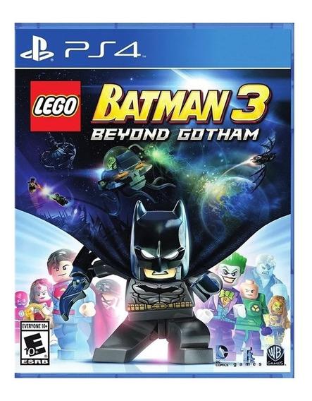 Lego Batman 3 Ps4 Jogo Digital 1 Português Vitalicio
