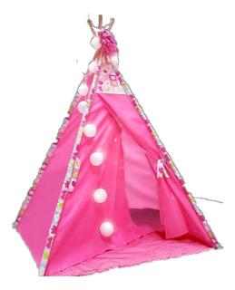 Tipi Carpa Infantil Carpita India Pijamada Rosa Varios Mod