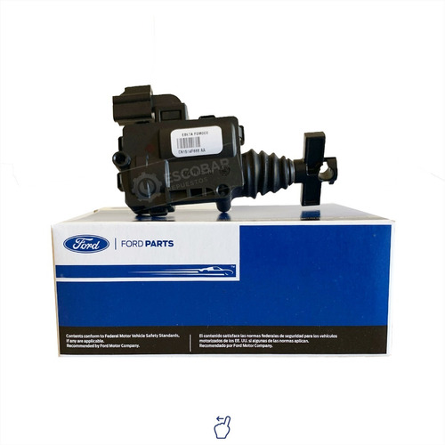 Imagen 1 de 9 de Motor Modulo Actuador Cerradura Portón Ford Ecosport 12+