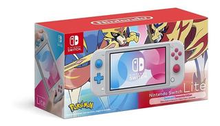 Nintendo Switch Lite Pokemon Zacian & Zamazenta Edition