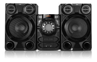 Minicomponente Jvc Mx-e326b Mp3 Usb Bluetooth Aux 8000w Cuot