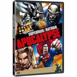 Dvd Superman Batman Apocalypse - O Filme Animado Original
