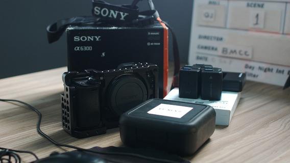 Sony A6300 + Cage Smallrig + Ef-nexii