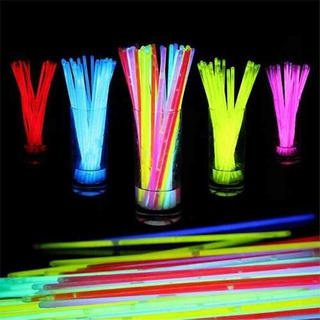 100 Pulseras Glow Neon Manillas Led Sticks Luminosas Fiesta