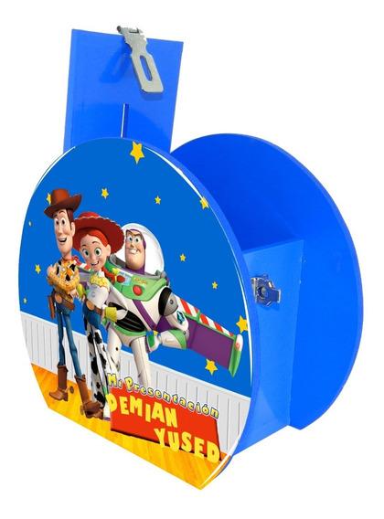 Alcancía Dulcero Centro Mesa Woody Jessie Buzz Personalizado