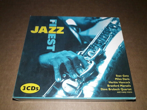 The Finest Jazz - Compilation (3 Cds)