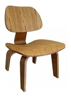 Silla Poltrona Plywood Eames De Madera - Prestigio