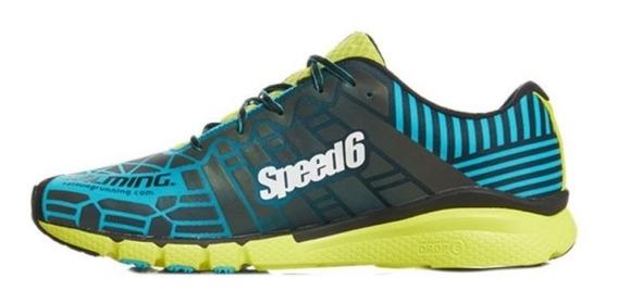 Zapatillas Salming Speed 6 Hombre Correr Running Originales