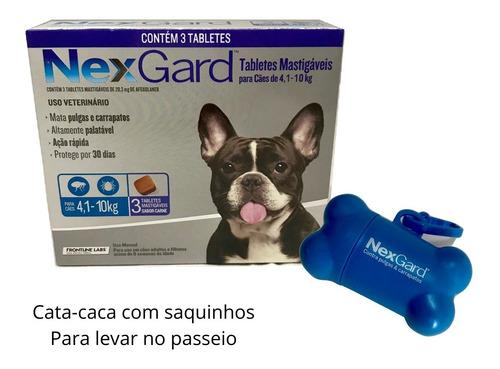 Imagem 1 de 3 de Antipulgas E Carrapatos Nexgard 28,3mg Para Cães De 4,1 A 10