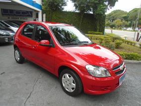 Chevrolet Celta 1.0 Lt Vhc-e 2014 Vermelho Flex Power 5p