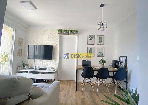 Imagem 1 de 27 de Apartamento Com 2 Dormitórios À Venda, 50 M² Por R$ 270.000,00 - Ferrazópolis - São Bernardo Do Campo/sp - Ap2278