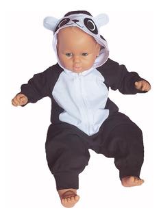 Pijama Bebe / Disfraz Bebe Oso Panda Kigurumi Algodon
