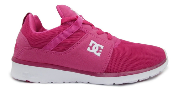 Tenis Dc Shoes Heathrow Adjs700021 Ras Raspberry Fiusha