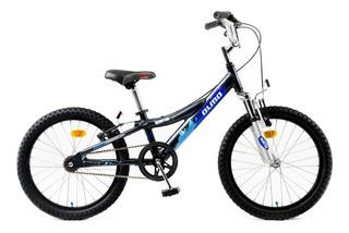 Bicicleta Infantil Olmo Reaktor Rod. 20 Nene Aluminio Negro