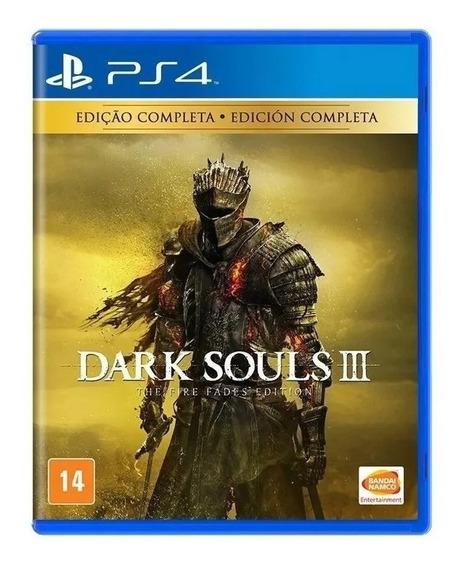 Dark Souls 3 The Fire Fades Ps4 Mídia Física Em Português