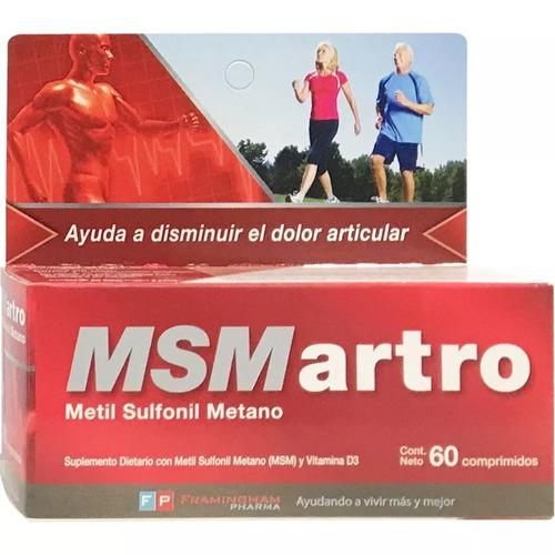 Msm Artro X 60 Comprimidos