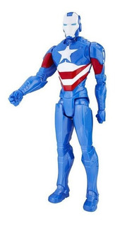 Muñeco Marvel Titan Hero Series 12-inch Iron Patriot