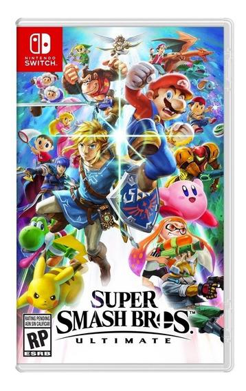 Super Smash Bros Ultimate - Nintendo Switch Disponible Msi