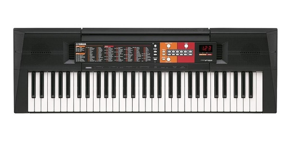 Teclado Yamaha Psr-f51 - Com Fonte E Porta Partitura
