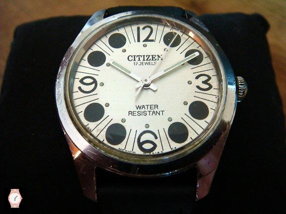 Atractivo Reloj Citizen Vintage De Cuerda Años 70s