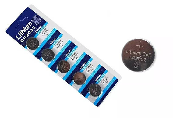 Bateria Lithium Cr2032 3v - 20 Unidades