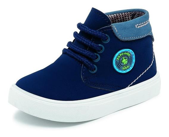 Zapato Para Niño Abc 460 Azul Mno 12-14 Meses Solo Enteros