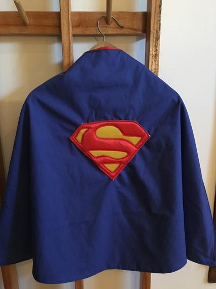 Capa Superman Dc Liga De La Justicia Disfraz Superheroes