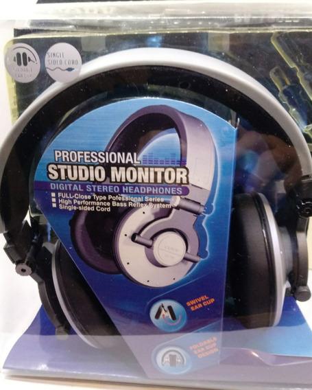 Fone De Ouvido Professional Studio Monitor