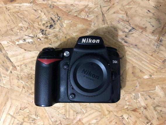 Nikon D90 (corpo) - Leia A Descrição