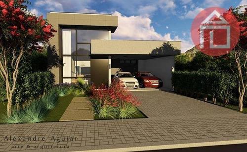Casa Com 3 Dormitórios À Venda, 184 M² Por R$ 1.300.000,00 - Condomínio Residencial Euroville Ii - Bragança Paulista/sp - Ca2876