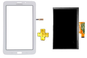 Kit Touch E Display Tela Samsung Galaxy Tab 3 V T116 Branco