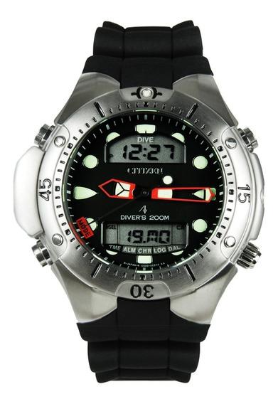 Relógio Citizen Aqualand Jp-1060 Pulseira Borracha