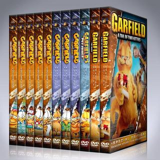 Garfield Serie Completa Dvd + Peliculas