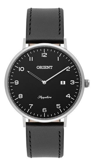 Relógio Masculino Orient Puls Couro 3atm Ref Mbscs008-p2px