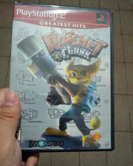 Ratchet & Clank Ps2 Lacrado