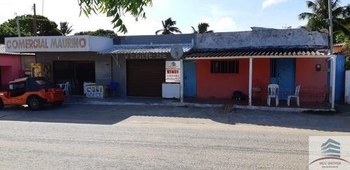 Terreno De 1800m  Com Uma Casa E 2 Pontos Comerciais A Venda