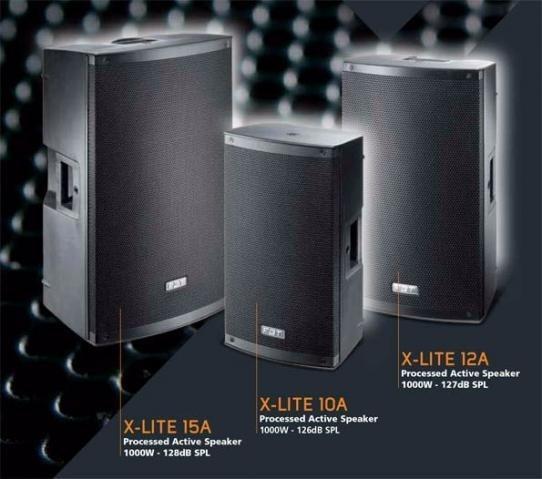 Caixa Ativa Fbt Xlite 12 1000watts