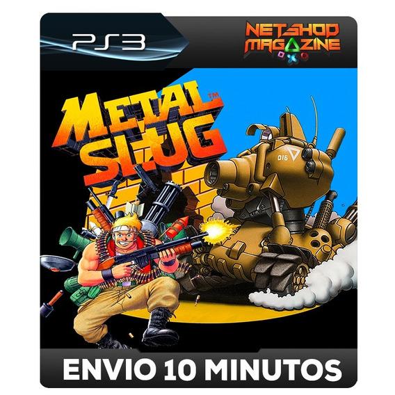 Metal Slug - Codigo Psn Ps3 - Promoção Pronta Entrega