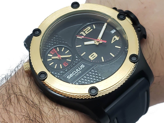 Relógio Masculino Seculus 20732gpsvhi1 Garantia 2 Anos