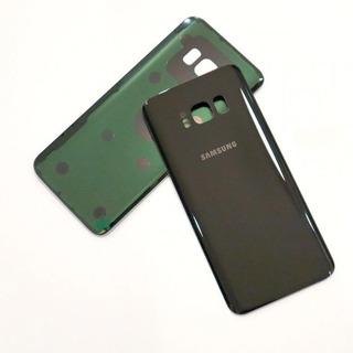 Tampa Traseira De Vidro Samsung Galaxy S8 G950 Com Adesivo