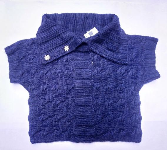 Gap Sweater Cardigan Grande Lana Abrigo No Aeropostale