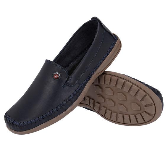 Sapato Sapatilha Masculino Mocassim Dockside Couro Galway 760-5