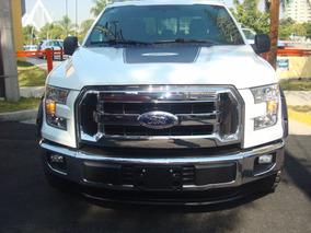 Ford Lobo 5.0l Xlt Cabina Doble 4x2 Mt 2015 Blanco